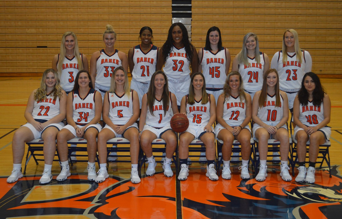 Baker University 2019 20 Women S Basketball Roster