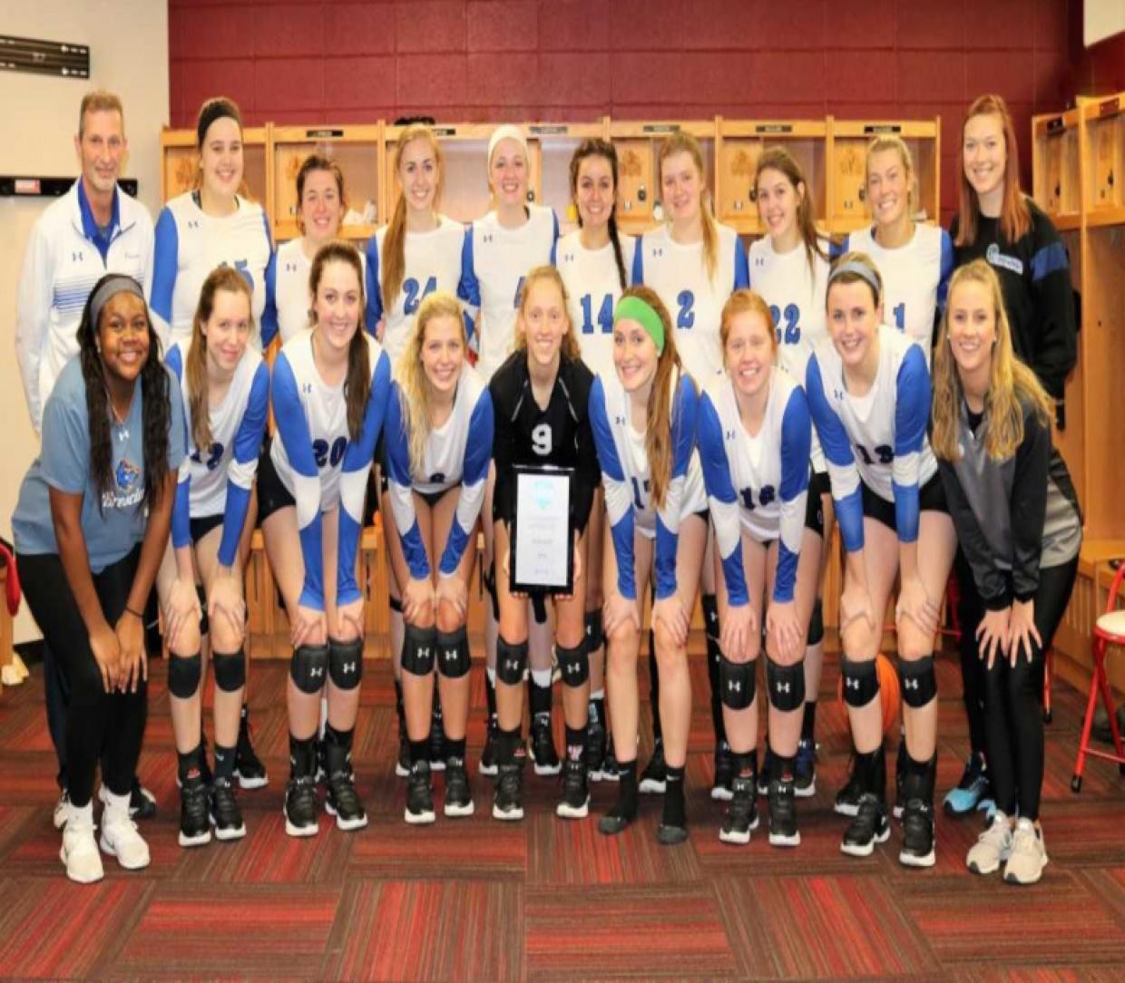 2018 Volleyball Roster Brescia University