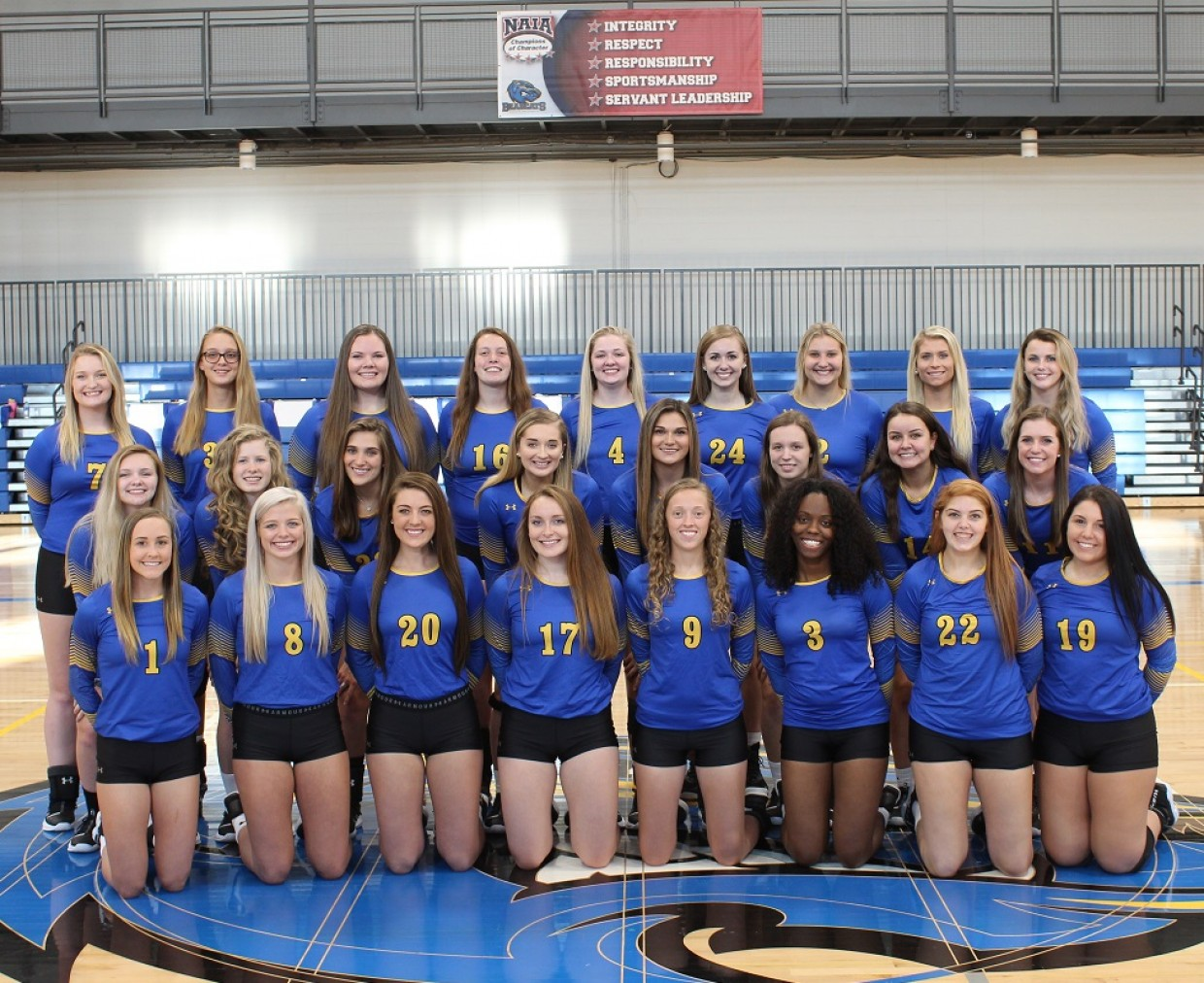 2020 Volleyball Roster Brescia University