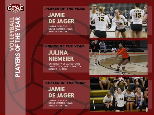 Great Plains Athletic Conference - 2012 Volleyball
