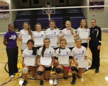 Volleyball Camp Award Winners Bethel University Athletics
