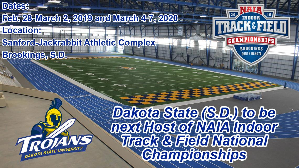 Calendar Sdstate February 2020 Dakota State (S.D.) to be next Host of Indoor Track & Field