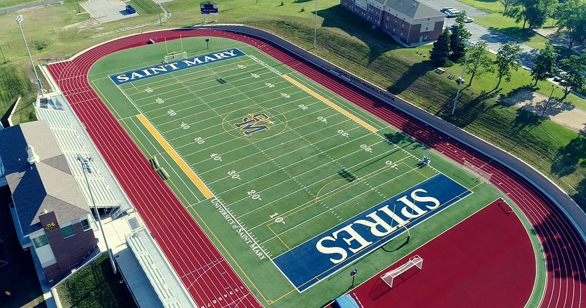 University Of St Mary >> Berkel Memorial Stadium University Of Saint Mary Kansas