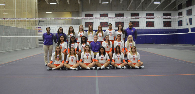 2017 Volleyball Roster Missouri Valley College