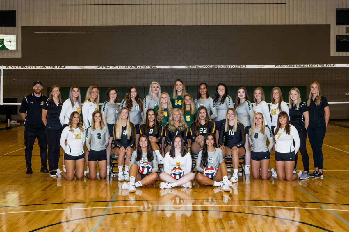 2020 Volleyball Roster Presentation College