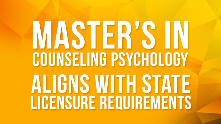 Masters in Counseling Psychology