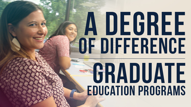 Graduate Education Programs