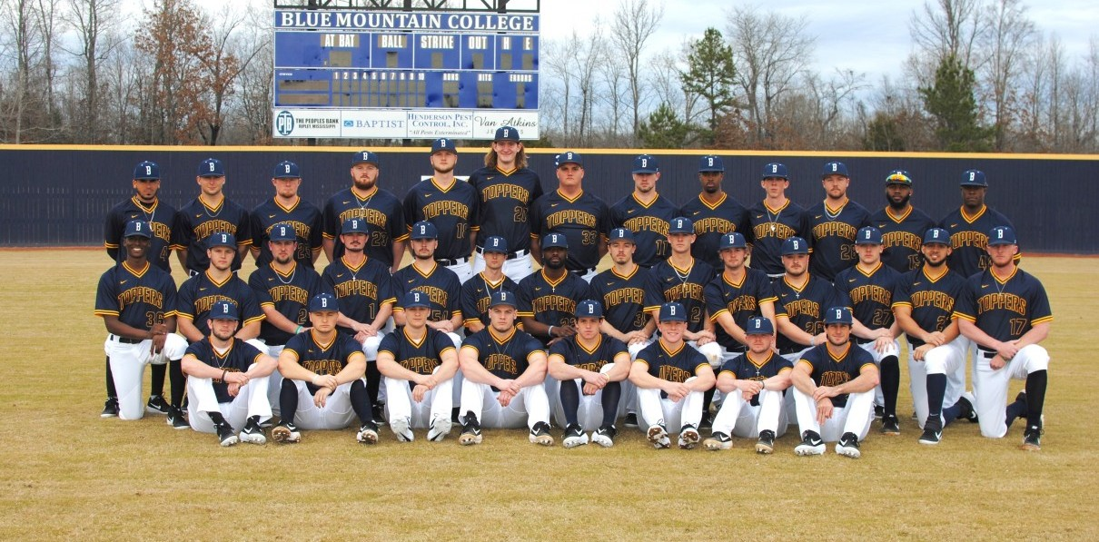 2019 Baseball Roster Blue Mountain College Athletics