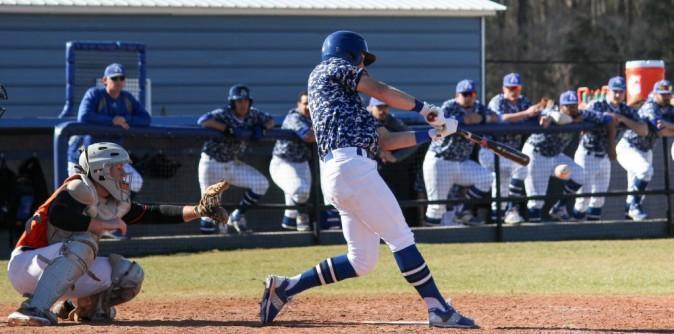 Baseball Dominates Dh Vs Voorhees St Andrews University Athletics