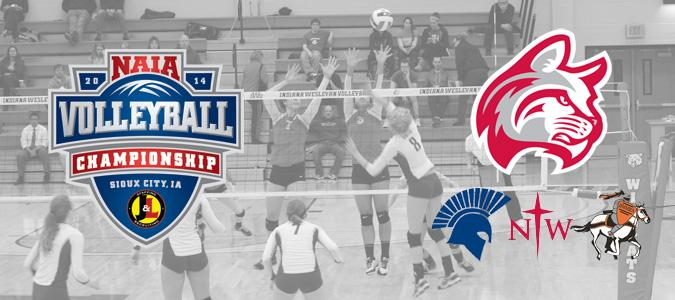 Volleyball Learns Pool Play Opponents at NAIA National Championship