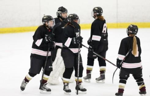 Women s Hockey Demonstrates Scoring Power Versus University of Iowa ... c5db6727209