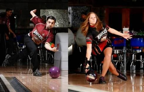 Mens Womens Bowling Compete In Uw Whitewaters Warhawk Open