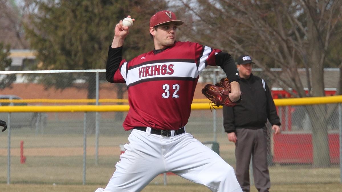 0376b1f77d3 Baseball  VCSU splits doubleheader with Presentation College ...