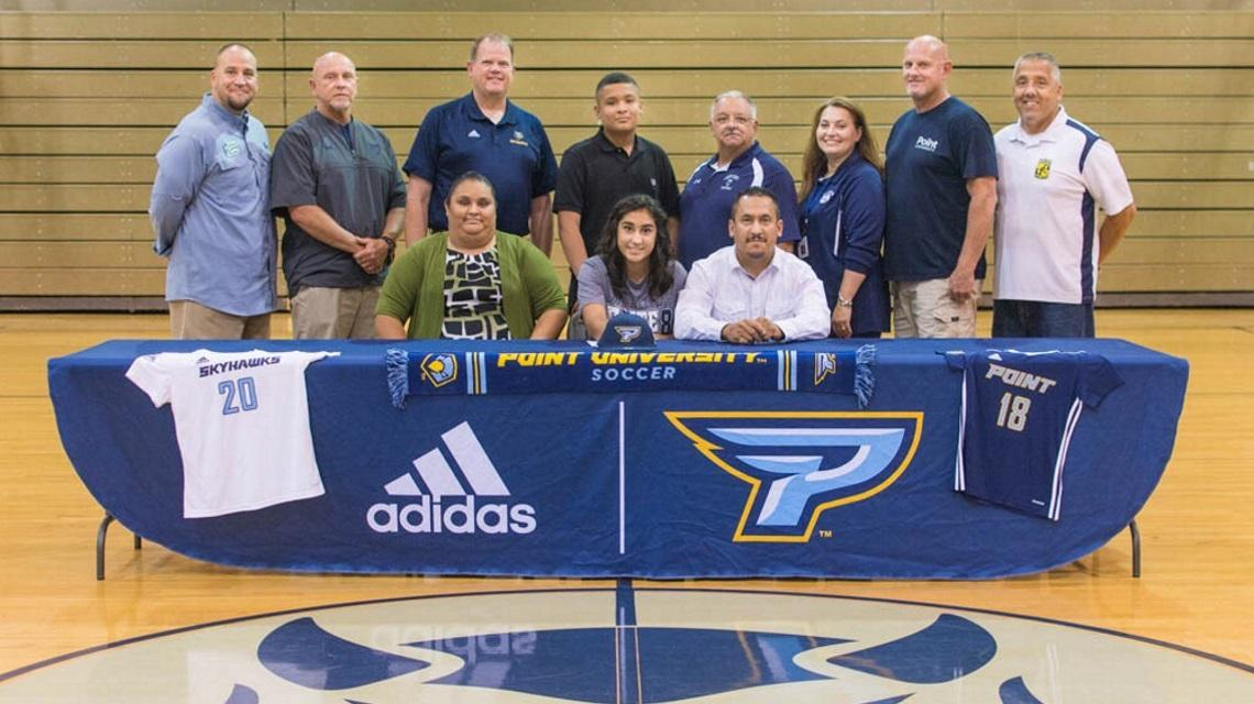 Point Women's Soccer Welcomes Forward Sonia Guadarrama from