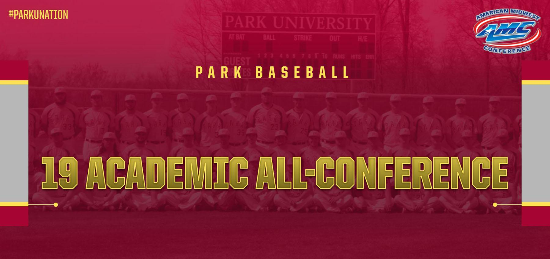 2020 Baseball | Park University Athletics