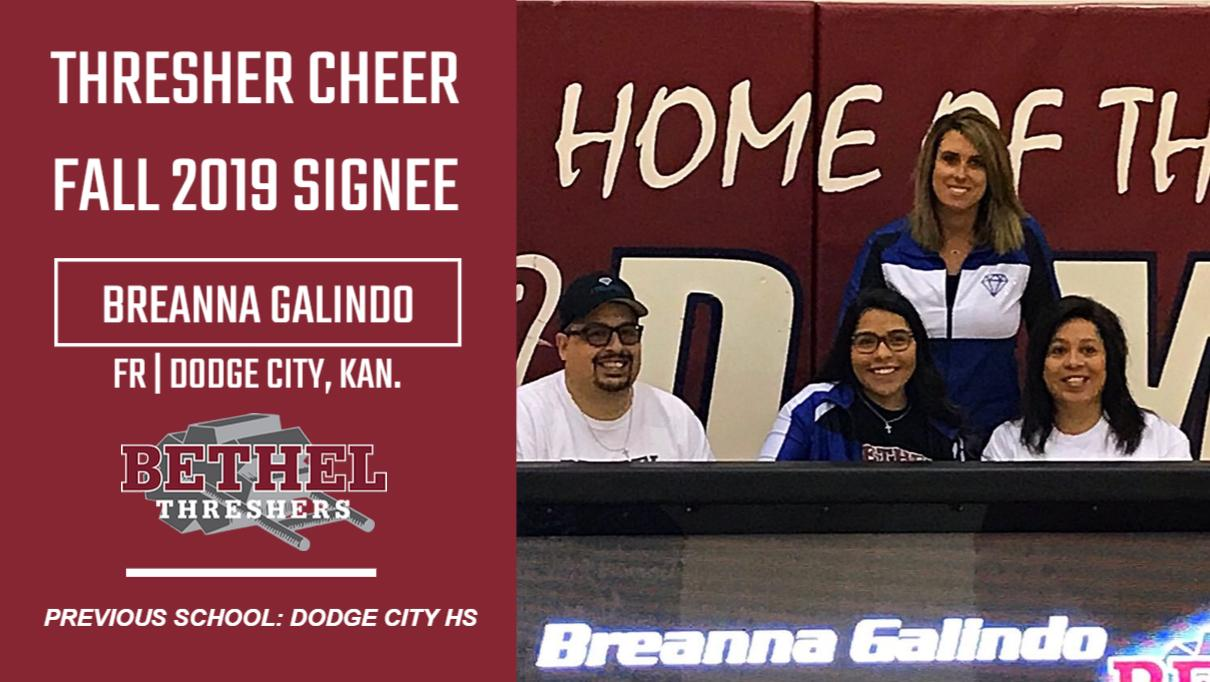 Threshers Schedule 2020 Cheer announces addition of Breanna Galindo for 2019 2020 season