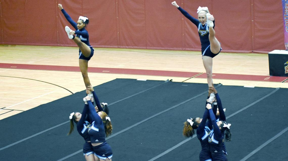 2020 Cheerleading | Point University Athletics on science map, baseball map, hip hop map, hiking map, curling map, cross country map, basketball map, diving map, triathlon map,