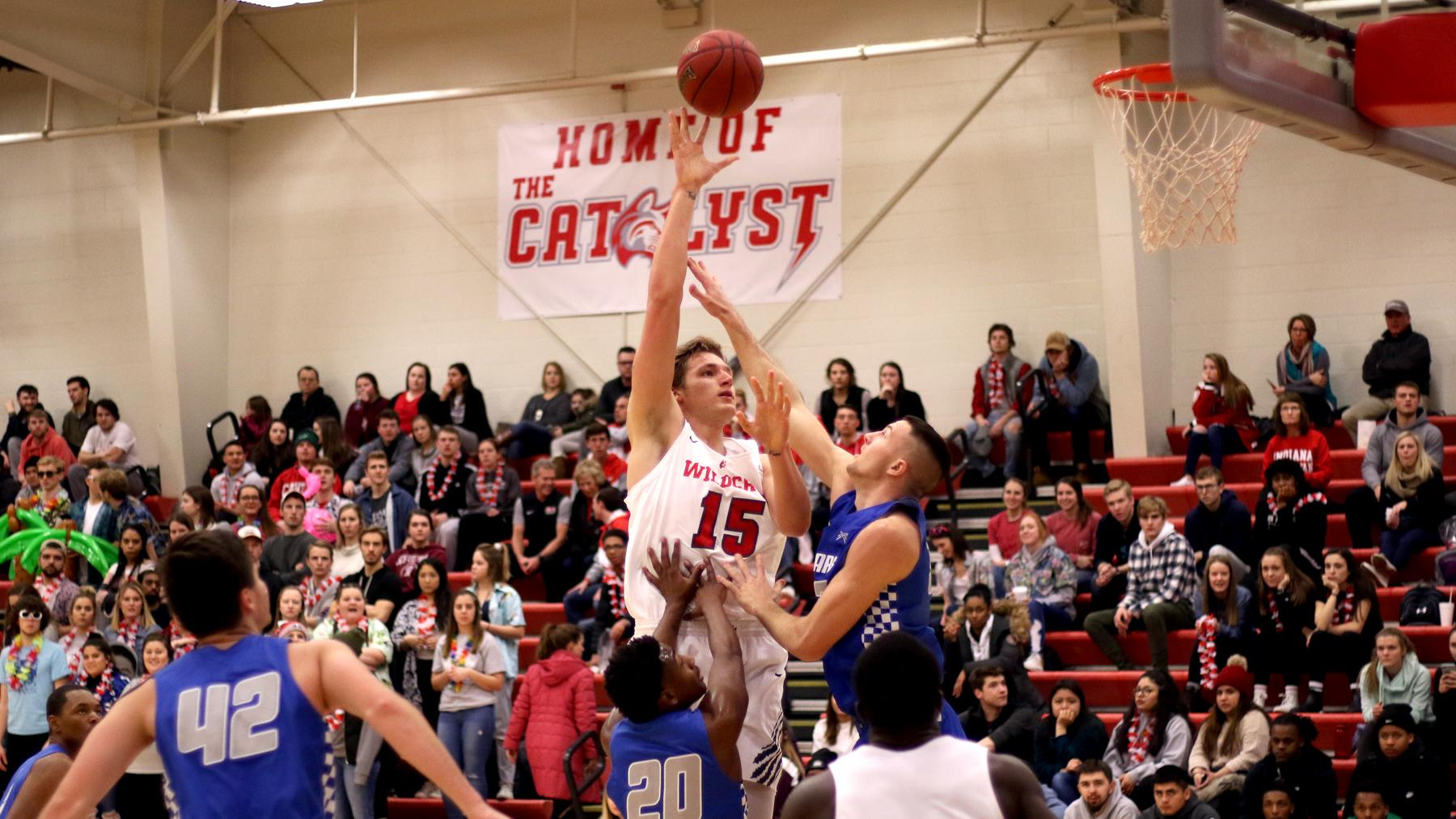 Mens Basketball Pulls Away Late From Saint Francis Indiana