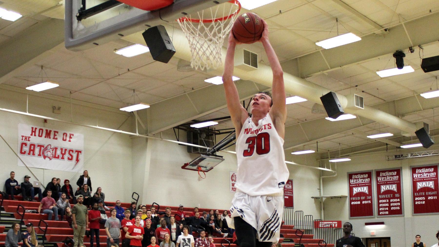 Saint Francis Upsets Mens Basketball Indiana Wesleyan University