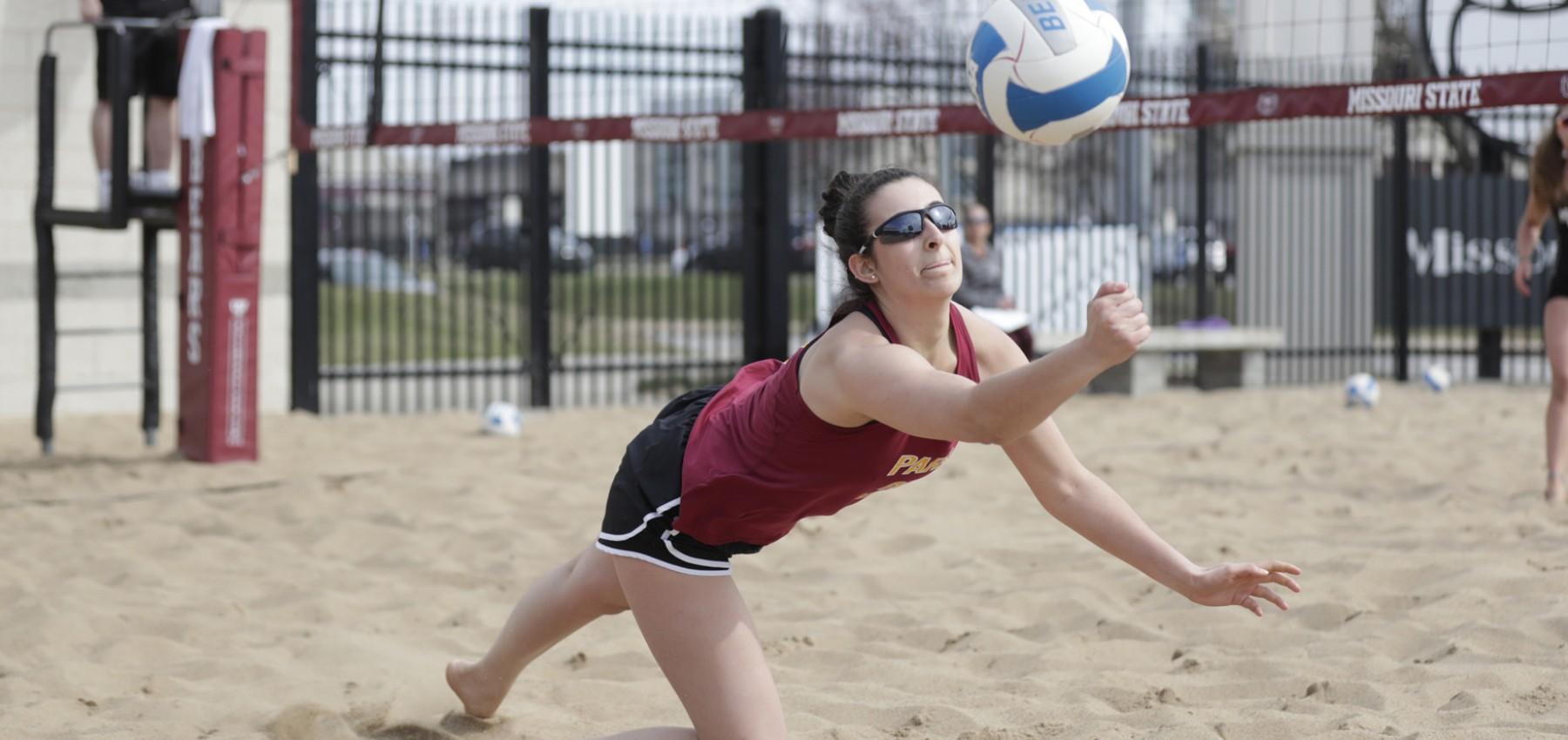 Park Beach Volleyball Ends Inaugural Season Park University Athletics