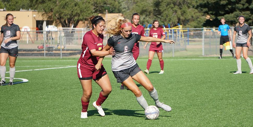 Texas Wesleyan Slips By Women S Soccer Falcons 2 1 Friends University Athletics