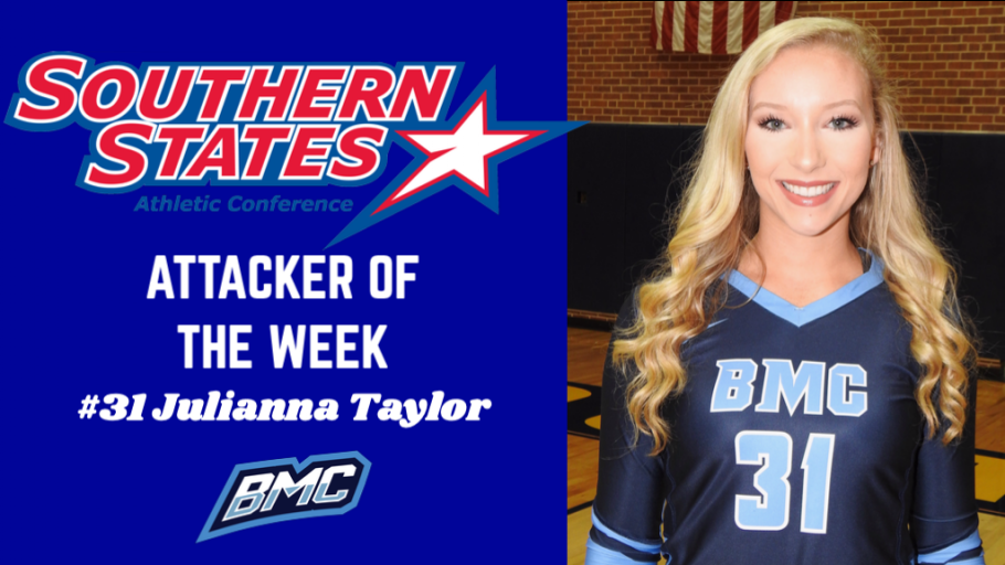 hot sale online 283bd 9fae4 Taylor named SSAC Attacker of the Week | Blue Mountain ...