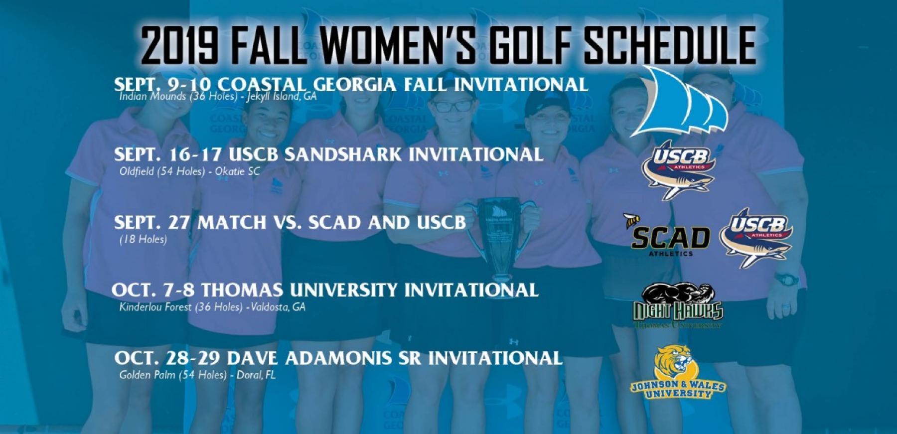 2020 Women's Golf   College of Coastal Georgia Athletics