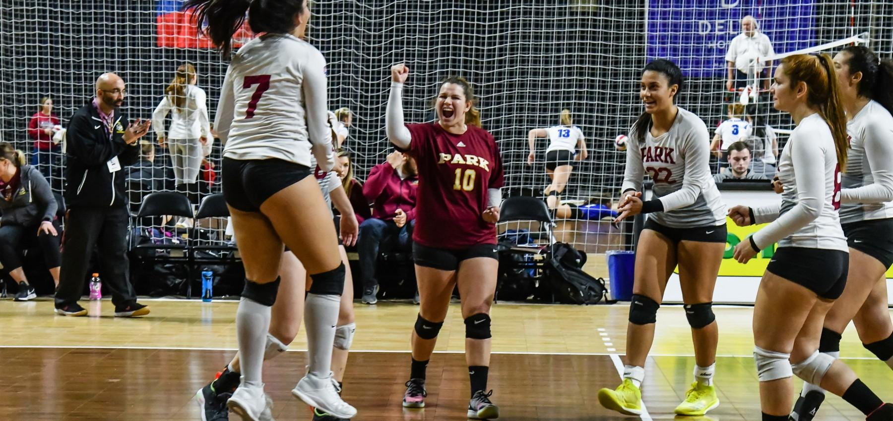 Women S Volleyball To Begin 2019 Ranked No 1 Park University Athletics