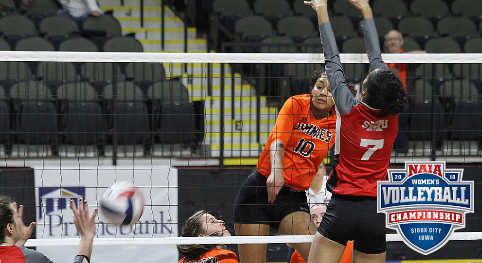 University of Jamestown Athletics - 2019 Women's Volleyball