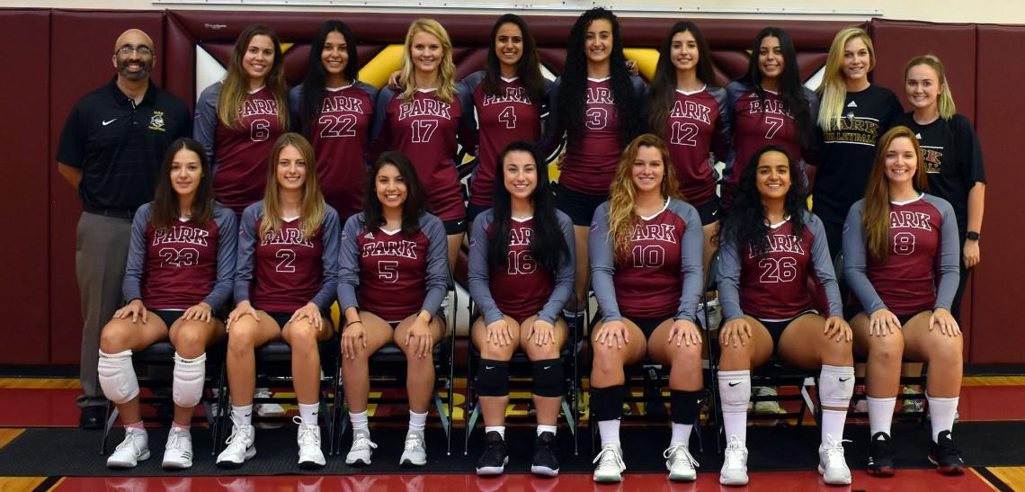 2018 Women S Volleyball Roster Park University Athletics