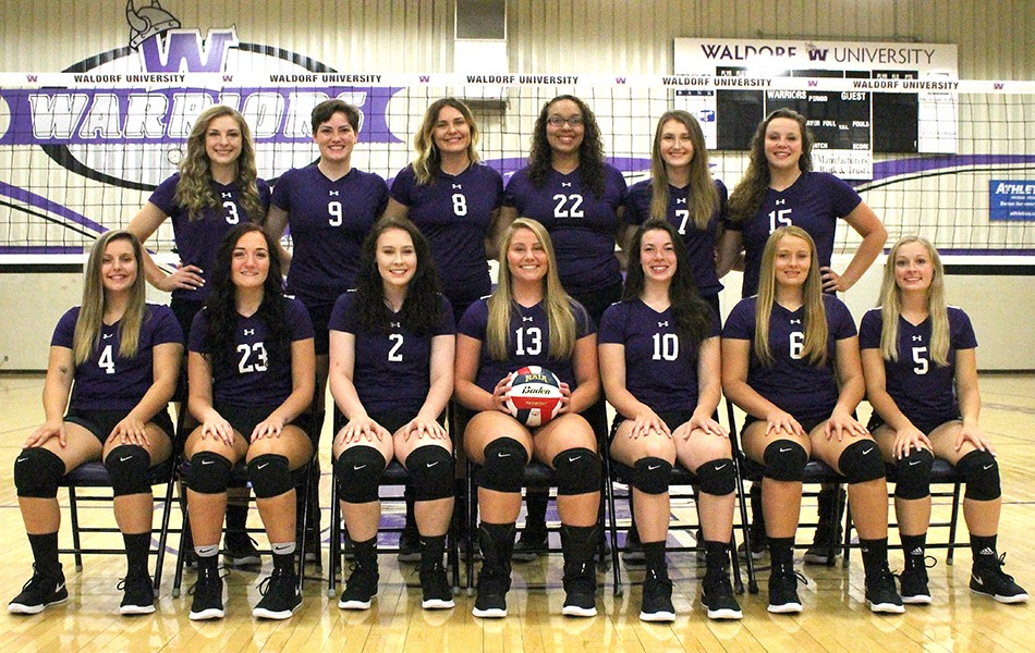 Waldorf University 2018 Volleyball Roster