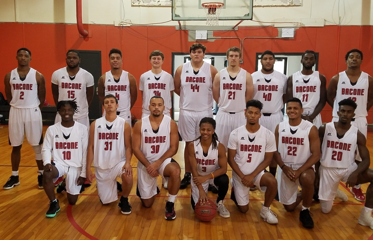 2018 19 Men S Basketball Roster Bacone College