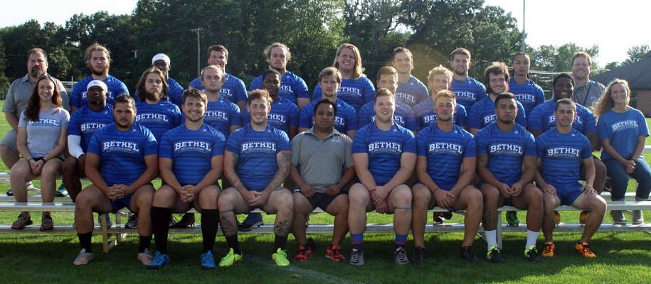 2016-17 Men's Rugby Team Photo
