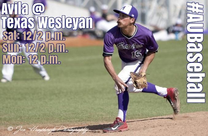 Baseball Preview Avila At Texas Wesleyan Avila University Athletics