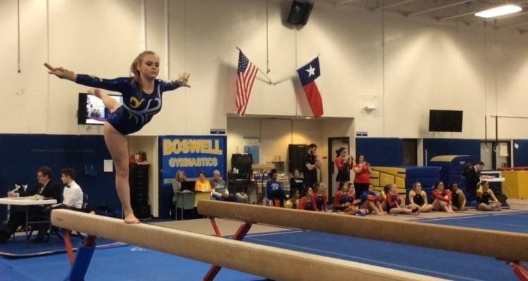 Lady Pioneer Gymnastics Team Earns Their First Win Of The Season