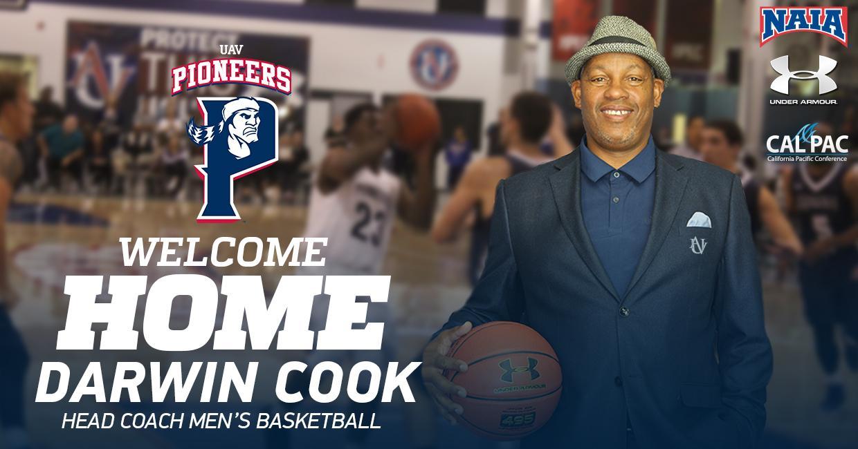 8e8130dd345f Former NBA Star Darwin Cook Named Pioneers Men's Basketball Head ...