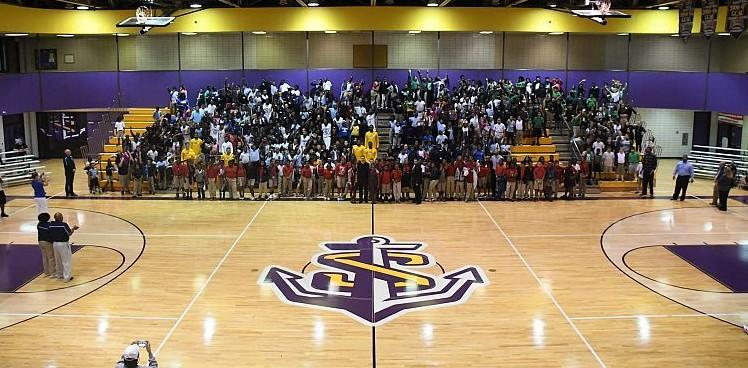 Lsus Hosts Naia Champions Of Character Game Lsu Shreveport Athletics