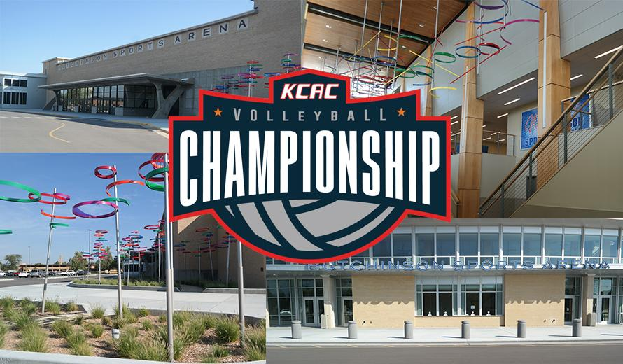 Hutchinson Sports Arena Set to Host KCAC Volleyball