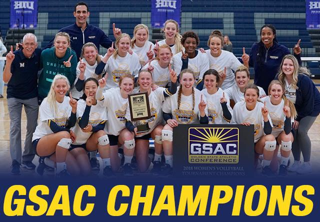 2019 Women's Volleyball | Golden State Athletic Conference