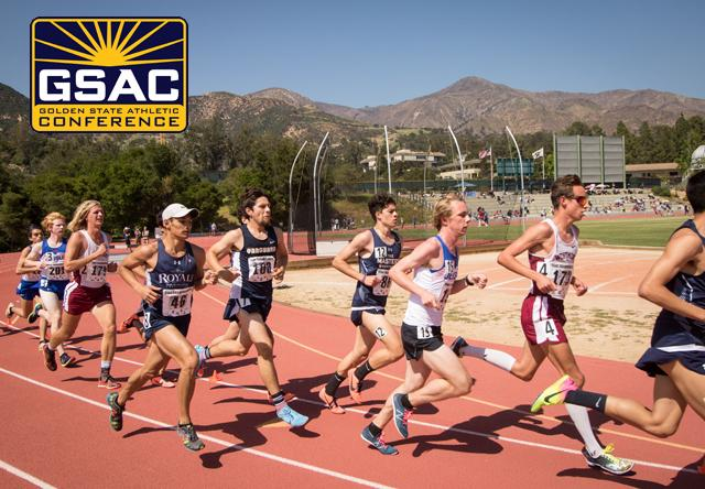 2020 Men's Outdoor Track & Field   Golden State Athletic Conference
