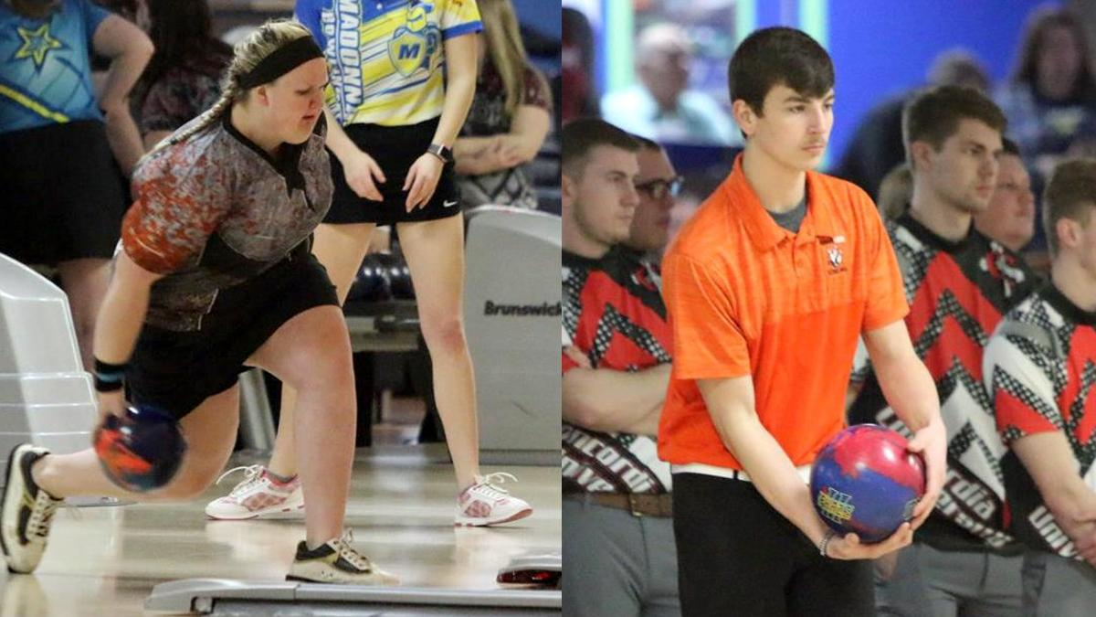 first bowlers of the week announced wolverine hoosier athletic