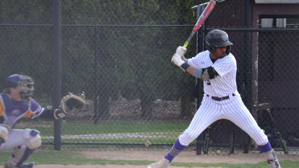 Senior Day Highlighted By Three Home Runs Including One By Brown Iowa Wesleyan University Athletics