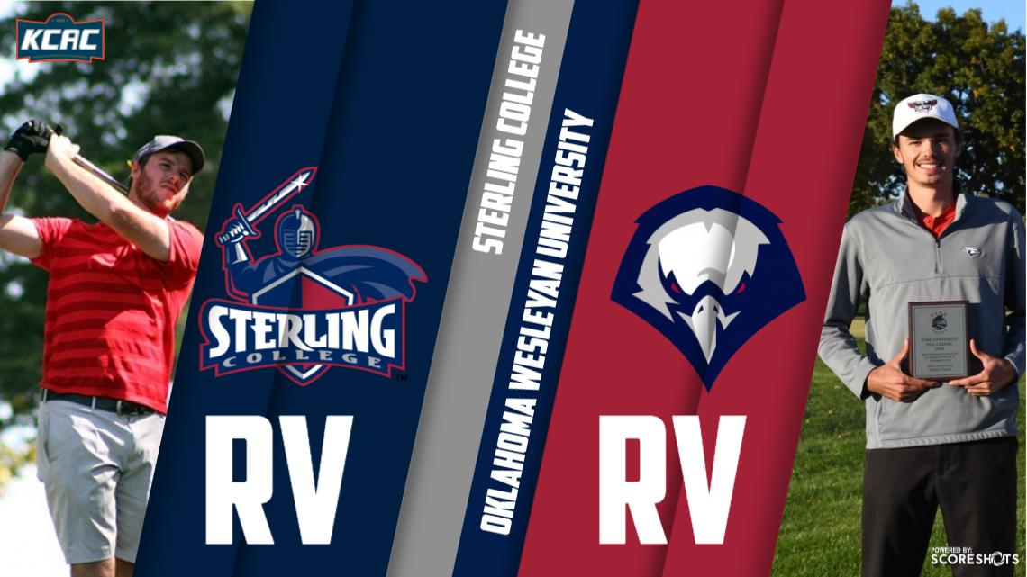 check out 5f5dd c47b9 Sterling, Oklahoma Wesleyan RV in NAIA Men's Golf Poll ...