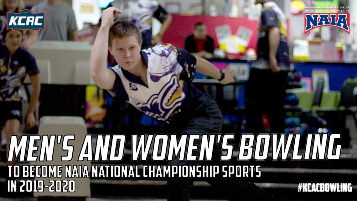 Men's and Women's Bowling To Become NAIA National Championship