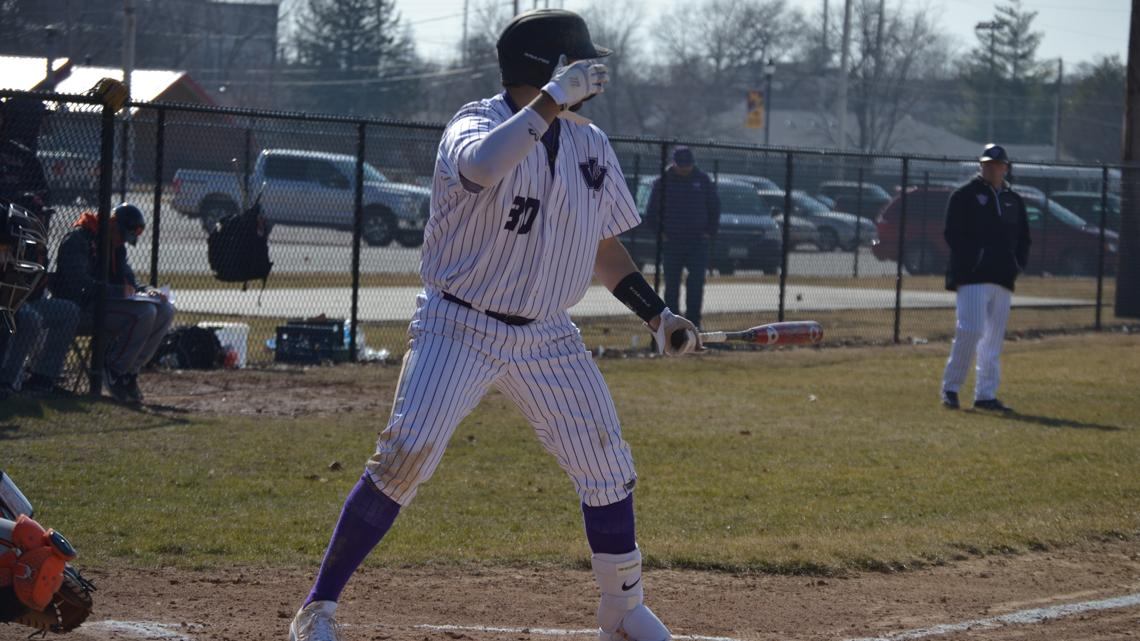 Tigers Hit Three Home Runs But Webster Take Series Iowa Wesleyan University Athletics