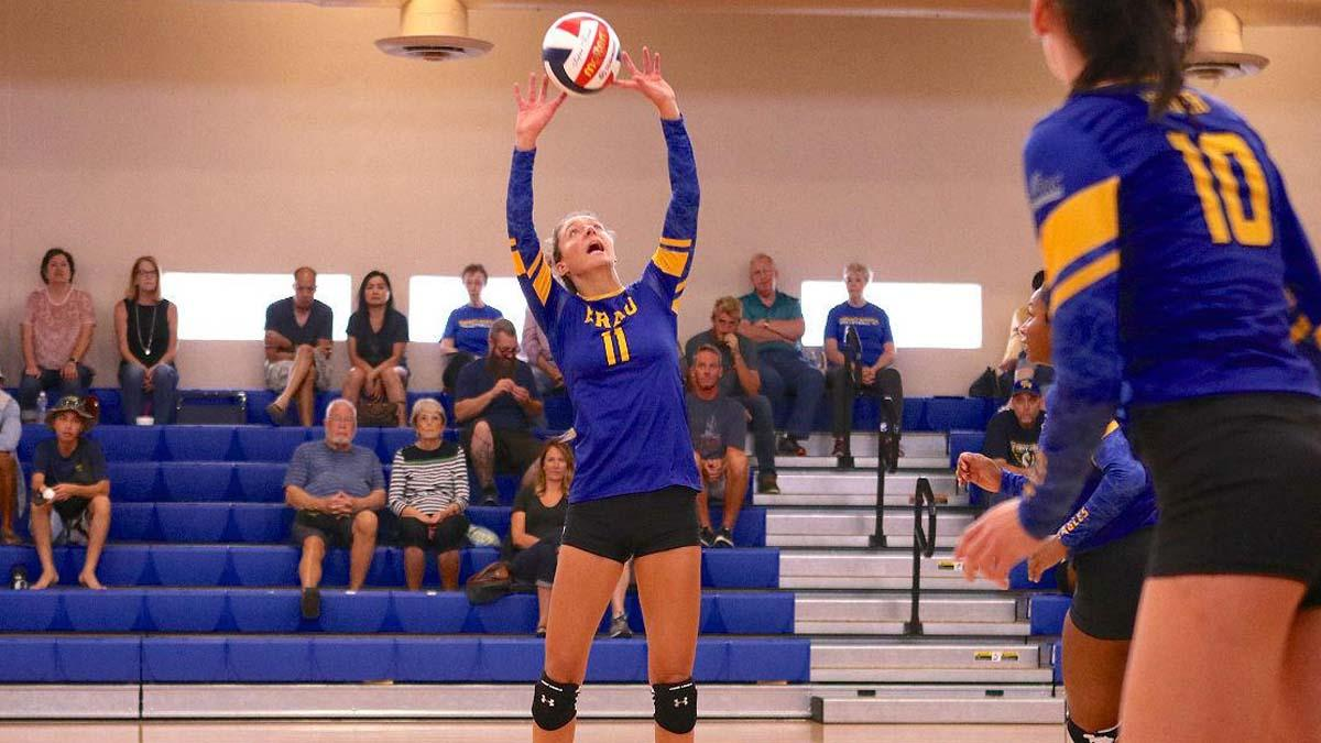 ERAU Opens with Westmont on Opening Day of Volleyball