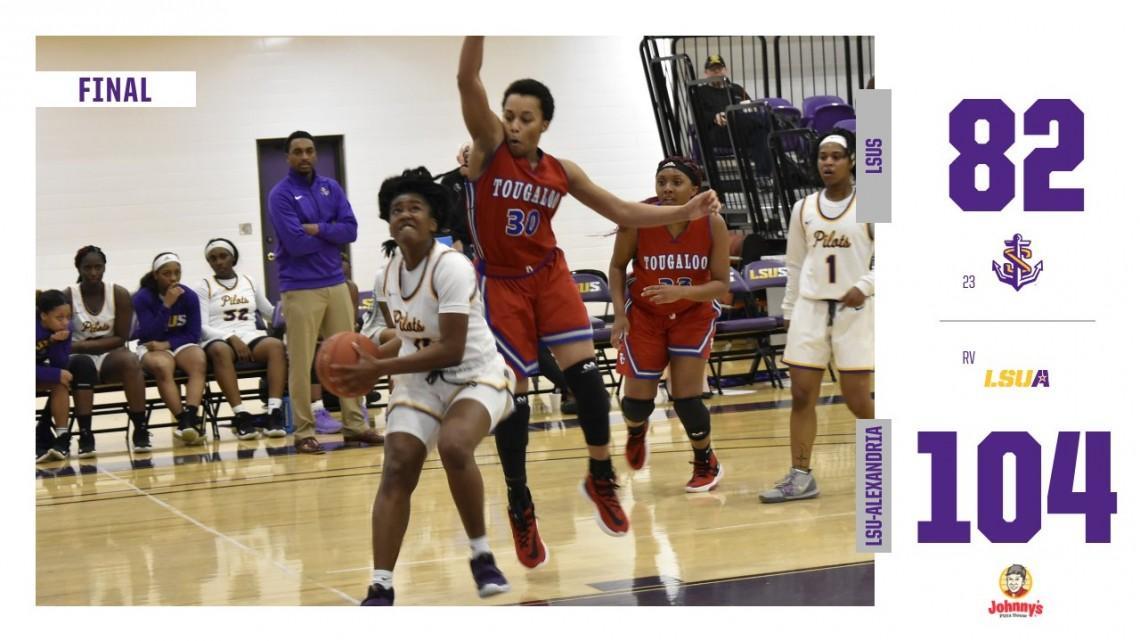 Women S Basketball Loses To Lsua 104 82 Lsu Shreveport Athletics