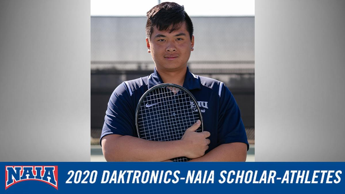 Men's Tennis Has One 2019-20 DAKTRONICS-NAIA SCHOLAR-ATHLETES | Hope  International University Athletics