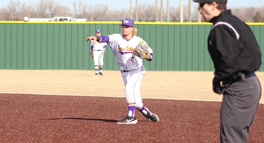 Errors Costly For Baseball Against Tabor Kansas Wesleyan University Athletics