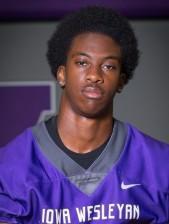 Jarius Evans 2018 Football Roster Iowa Wesleyan University Athletics